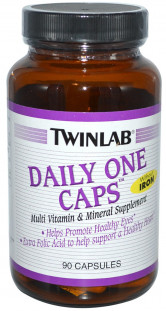 Twinlab Daily One Caps without Iron (90 кап)