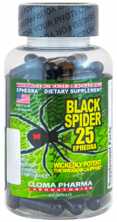 Сloma Pharma Black spider (100 cap.)